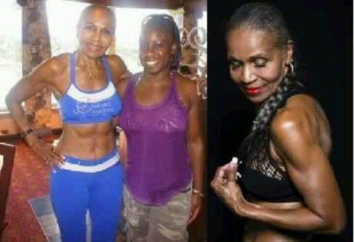 76 years young! Ernestine Shephard, you demonstrate to us that age is just a number!