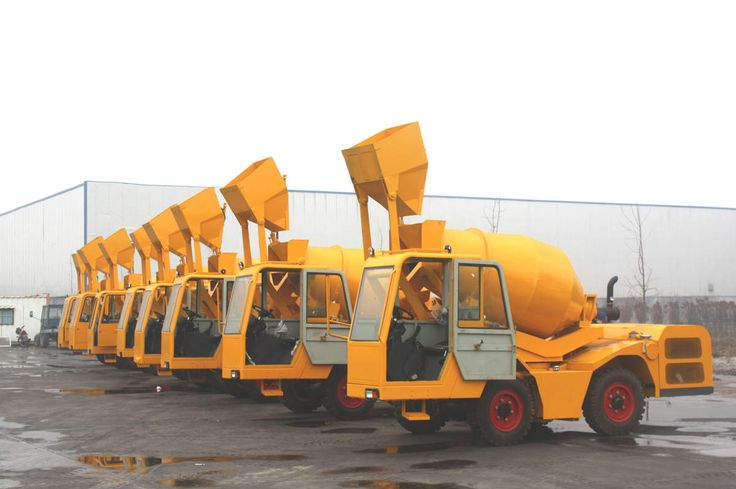 Taking a Glance at Different Styles and Sizes of a Concrete Mixer Truck