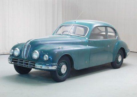 1951 Bristol 401 - Aluminum body!