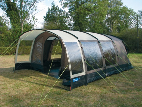 Kampa Hayling 6 tent this would be cool if I was camping for about a month