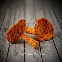 Crochet mushroom.