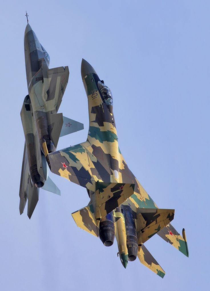 Sukhoi SU-37 Terminator. PAK-FA