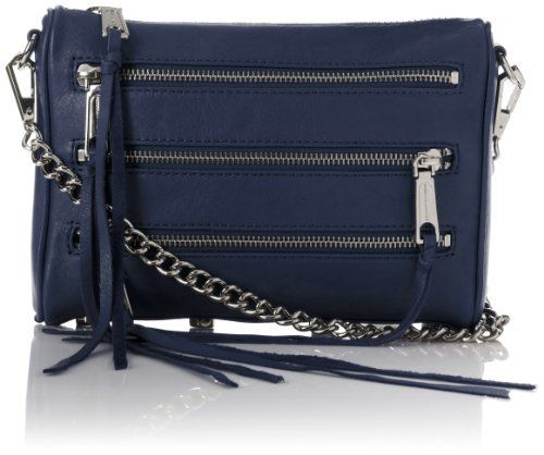Rebecca Minkoff Mini 5 Zip Cross Body Bag, http://www.amazon