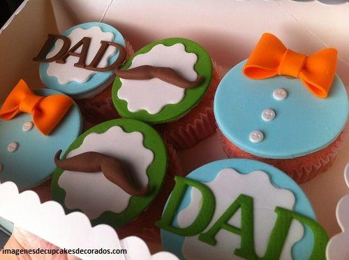 Resultado de imagen para cupcake de cumpleaños para hombres