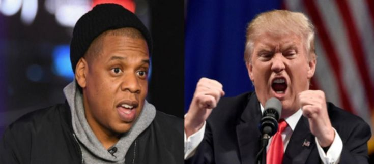 """Donald Trump just attacked Jay-Z after the rapper and media mogul spoke out against the president's recent comments about several foreign countries being a """"sh*thole,"""" which caused Twitter to quickly fire back. http://us.blastingnews.com/showbiz-tv/2018/01/donald-trump-attacks-jay-z-for-criticizing-his-shthole-insult-twitter-erupts-002321841.html"""