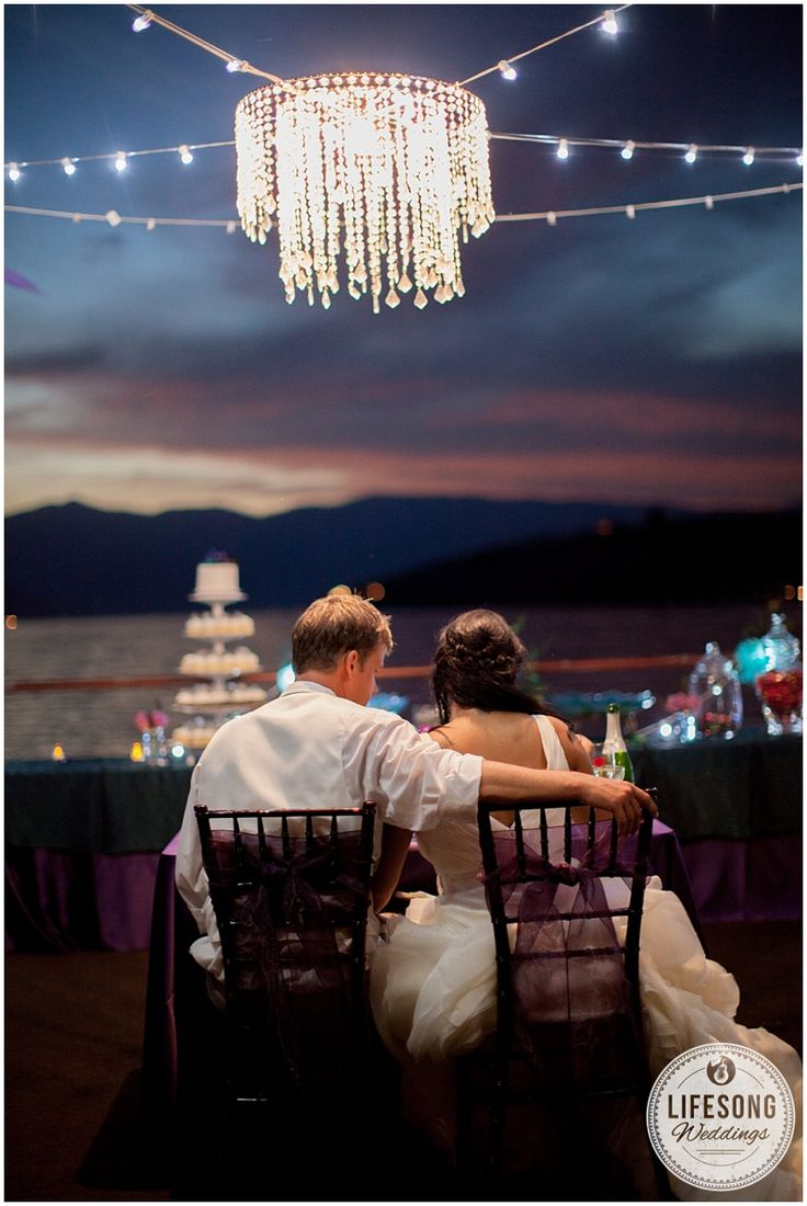 Fairy Tale Wedding Sunset On Lake Chelan Jack And Brittney Grandview The
