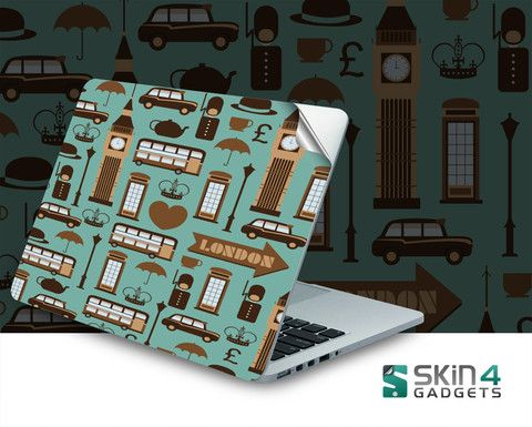 Skin4Gadgets London Laptop Skin For 15 and 15.6 inch Laptop