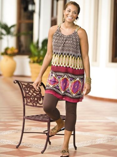 24 best Tunics & Capris images on Pinterest