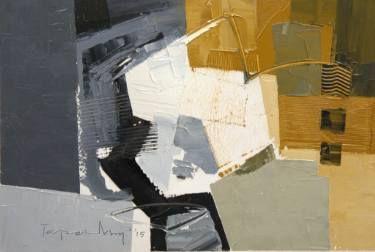 "Saatchi Art Artist Tapas Roy; Painting, ""Untitled-X2"" #art"