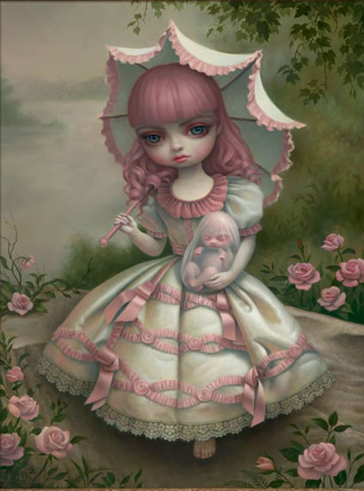 Images mark ryden | ryden virgin and child 2010 oil on canvas ryden girl