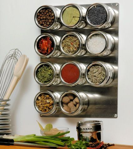 Our original (and still the best!) magnetic spice shakers are made by our friends in USA from 18-8 stainless steel and not only protect the potency and flavour of the spices, but have the visual appeal that make them ideal for anyone who likes to cook, values an organised kitchen or simply has an eye for beautiful things.
