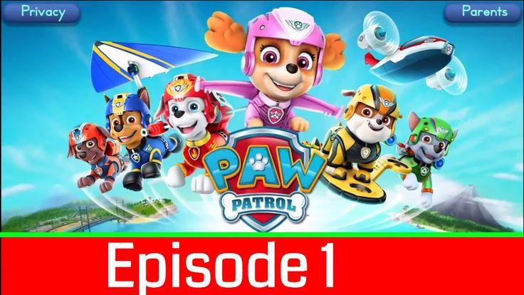Nickelodeon Games to play online 2017 ♫Paw Patrol Pups Take Flight Episode 1♫ Kids Games
