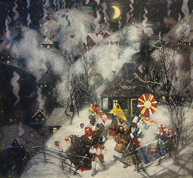 Christmas Fairy tale by Oksana Arkhipova