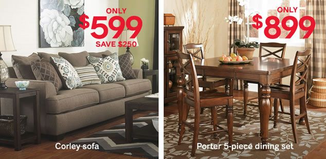 Ashley Furniture HomeStore Black Friday Sale Extended Extended
