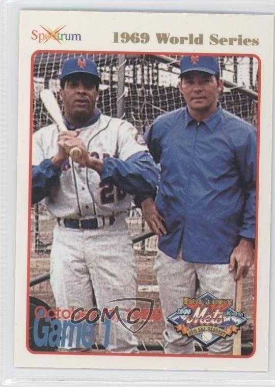 1994 #61 October 11 1969 (Tommie Agee) New York Mets Tommie Agee Card 2h2 #NewYorkMets