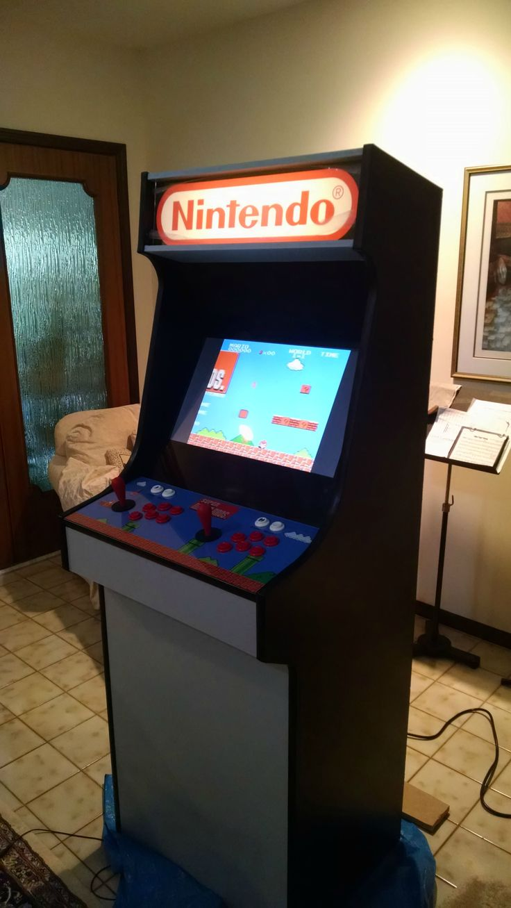 Cabinet Plans DIY Mario Themed RetroPie Arcade - Album on Imgur