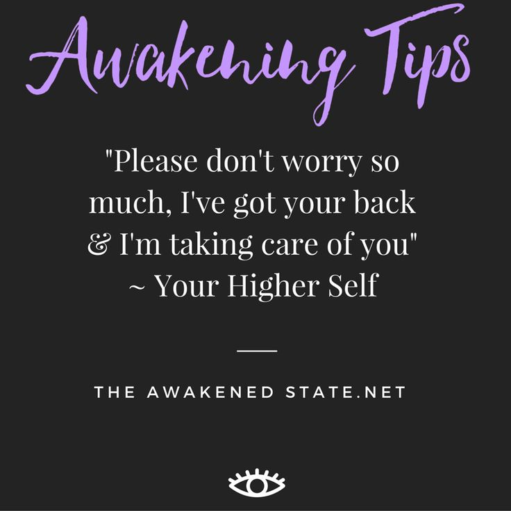 Worry is a misuse of your imagination. Don't forget your higher self always has a plan in store. Remember this and you will learn to see the lesson in everything. This is how miracles happen. http://theawakenedstate.net/