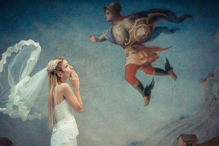 Standesamtliche Hochzeit im antiken Palazzo Vecchio in Florenz - Hochzeit in Italien