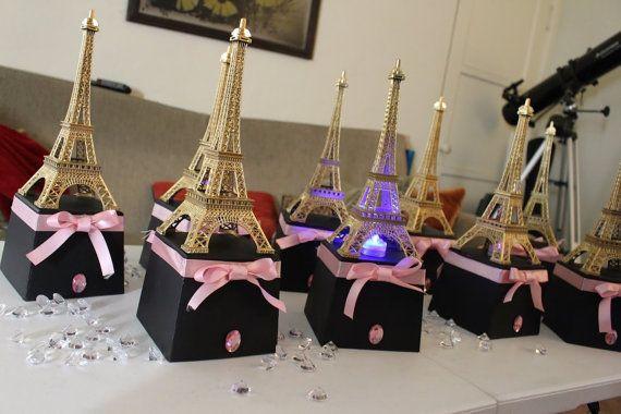 Paris Eiffel Tower Centerpiece Party Themes By