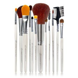 E.l.f. Cosmetics 12 Piece Brush Set  Order at http://www.amazon.com/E-l-f-Cosmetics-Piece-Brush-Set/dp/B001HKR6WM/ref=zg_bs_11062741_37?tag=bestmacros-20