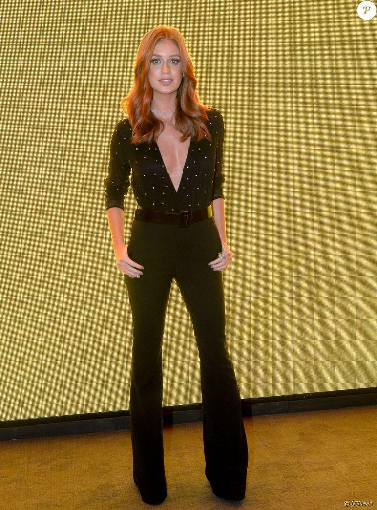 'Fico feliz quando alguém me fala que sou inspiração. A moda sempre foi algo natural para mim', declarou Marina Ruy Barbosa