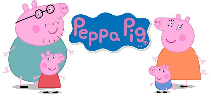 """Galeria de imagens do desenho da Peppa Pigem PNG CLIQUE na miniatura para ver a imagem completa e para salvar, clique com o botão direito do mousee escolha a opção """"salvar imagem como"""".  Pe…"""