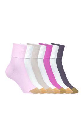 Gold Toe  Turn Cuff Socks - 6 Pack