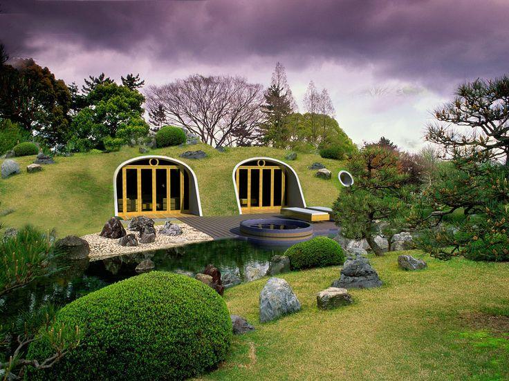 Leven in een Hobbithuis? Met de geprefabriceerde huismodules van Green Magic Homes is dat geen fantasie meer. Deze met glasvezel versterkte polymeermodules ...