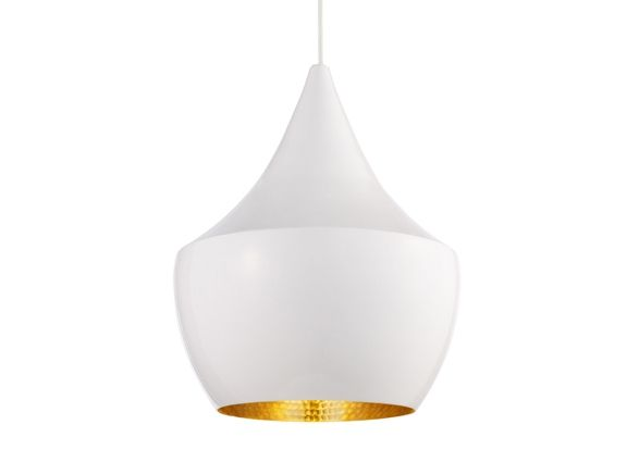 Tom Dixon, Beat LIght White Fat, Brass hand beaten #pendant #light