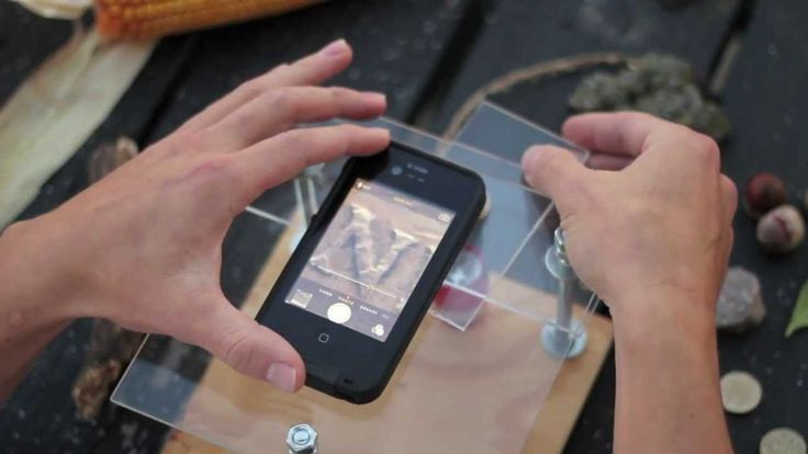 How to use your smartphone and a few inexpensive parts from the hardware store to make a microscope. Yes!