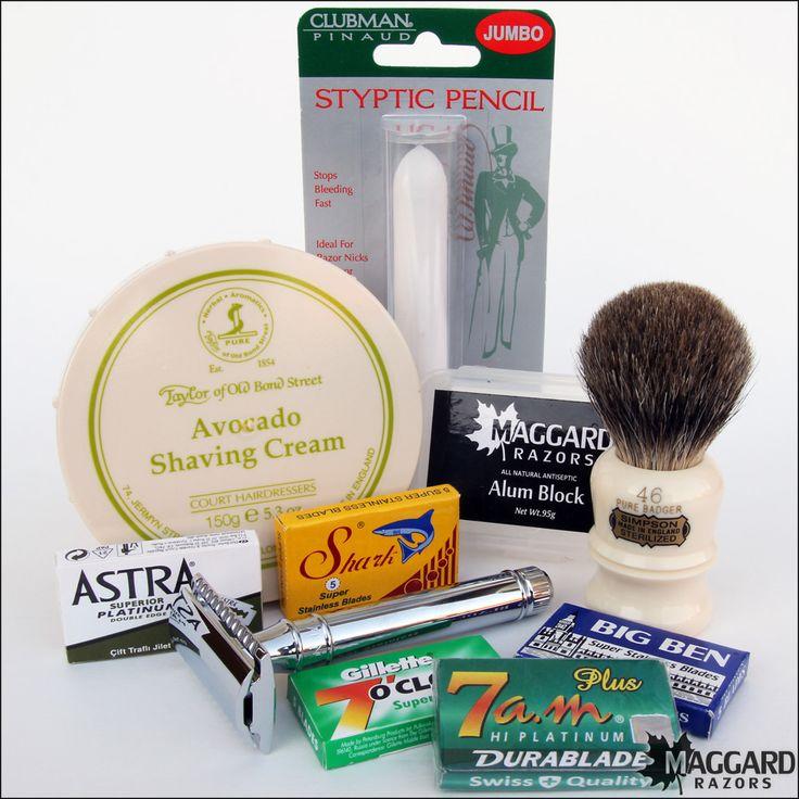 Maggard razors premium wet shaving starter kit wet