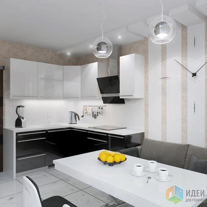 Очередная кухня-красавица по проекту дизайнера Власовой Марии запущена в производство.
