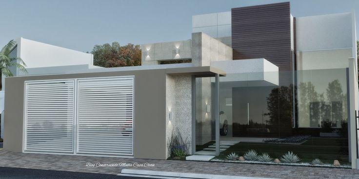 Fachadas de Casas com Muros de Vidro!!!