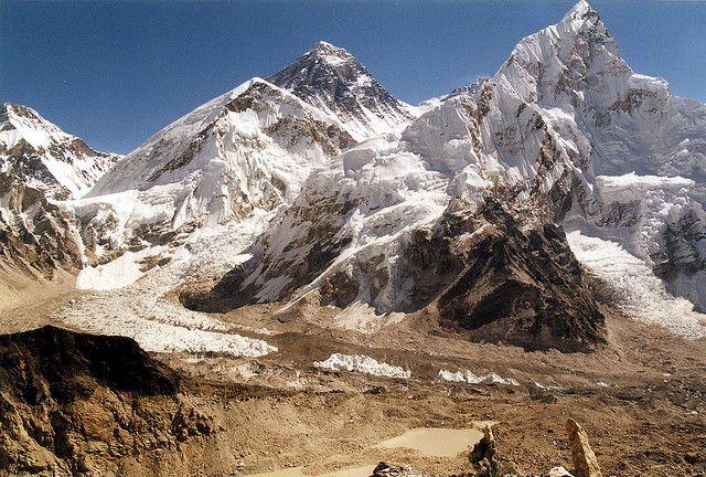 世界遺産 エヴェレスト・トレッキング サガルマータ国立公園の絶景写真画像 ネパール