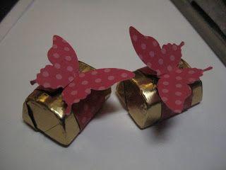 Fácil embalagens de doces perfurados