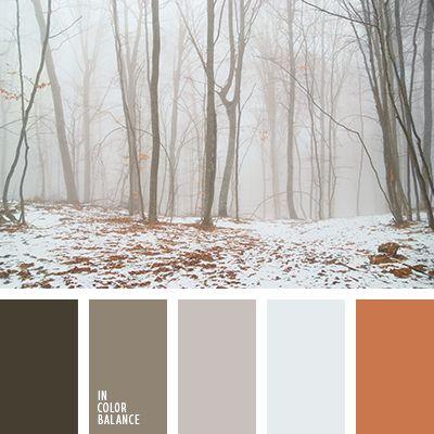 """""""пыльный"""" оранжевый, бежевый, оранжевый, оттенки коричневого, светло-коричневый, серый, темно-коричневый, теплые оттенки коричневого, цвет зимнего тумана, цвет осеннего тумана, цвет тумана."""
