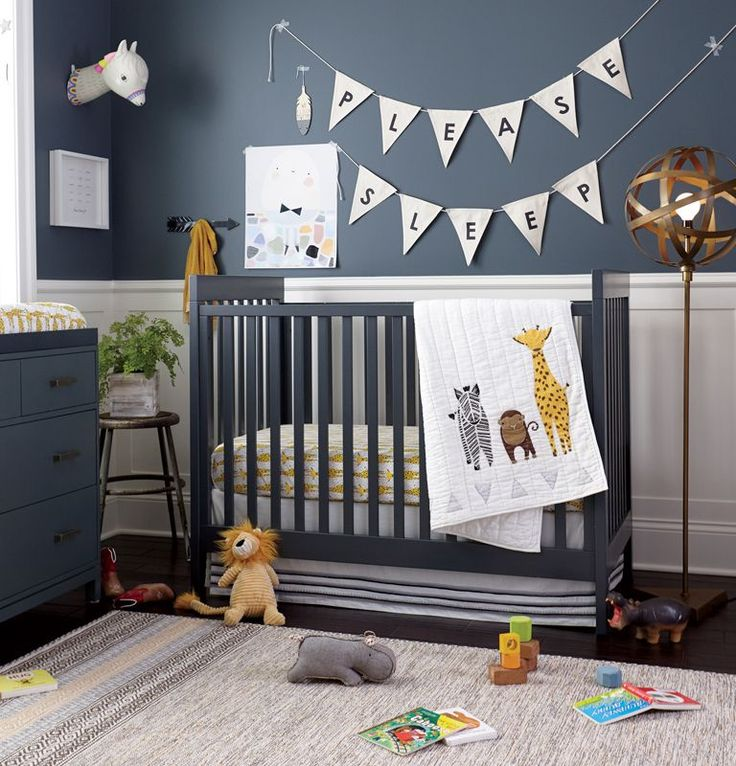 View The Safari Themed Boys Nursery At The Land Of Nod To Find Design Ideas  And