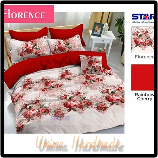 #flowers #instaflowers #bedding #bedsheet #bedcover #bedroom #bedroomdesign #spreikombinasi #spreihandmade #sprei #interior #interiordesign Katun Lokal / SET SPREI Single I (bed no 4) 100x200x20= IDR 125.000- Single II (bed no 3) 120x200x20= IDR 145.000- Queen (bed no 2) 160x200x20= IDR 185.000- King (bed no 1) 180x200x20= IDR 195.000- Extra King (Extra Besar) 200x200x20= IDR 215.000- Katun Lokal / SET SPREI & BEDCOVER Single I (uk BC:150X240) 100x200x20= IDR 325.000- Single II(uk BC…