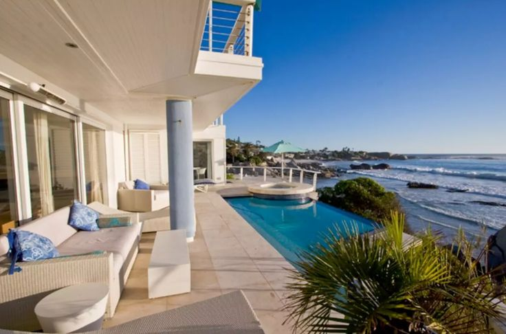 This architecturally designed villa is set in a spectacular location right on Famous Third Beach in Clifton. The bungalow features unsurpassed views of the four famous Clifton Beaches.Third Beach 15 Bungalow offers the bonus of privacy, without neighbours, and has an added benefit of having direct access to Third Beach. The rim-flow pool and jacuzzi, together with a seamless flow between indoors and outdoors, offers ocean views which feels like an extension of the bungalow.