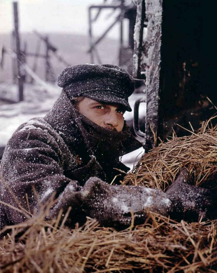 Omar Sharif in Doctor Zhivago (David Lean, 1965)