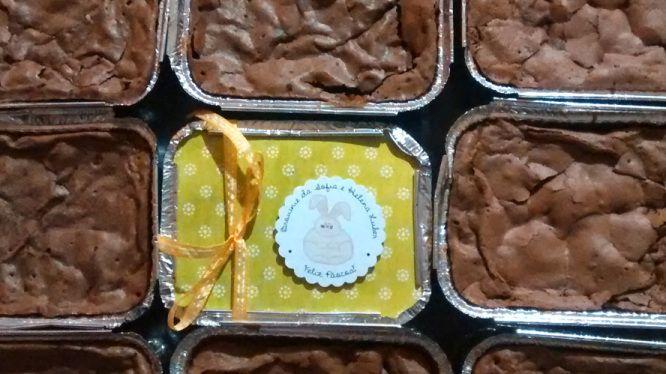 Brownie Páscoa