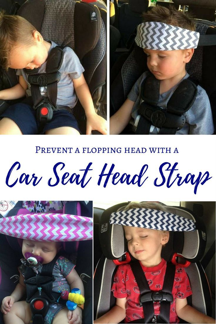 Car Seat Head Strap Baby Roadtrip Family Toddler