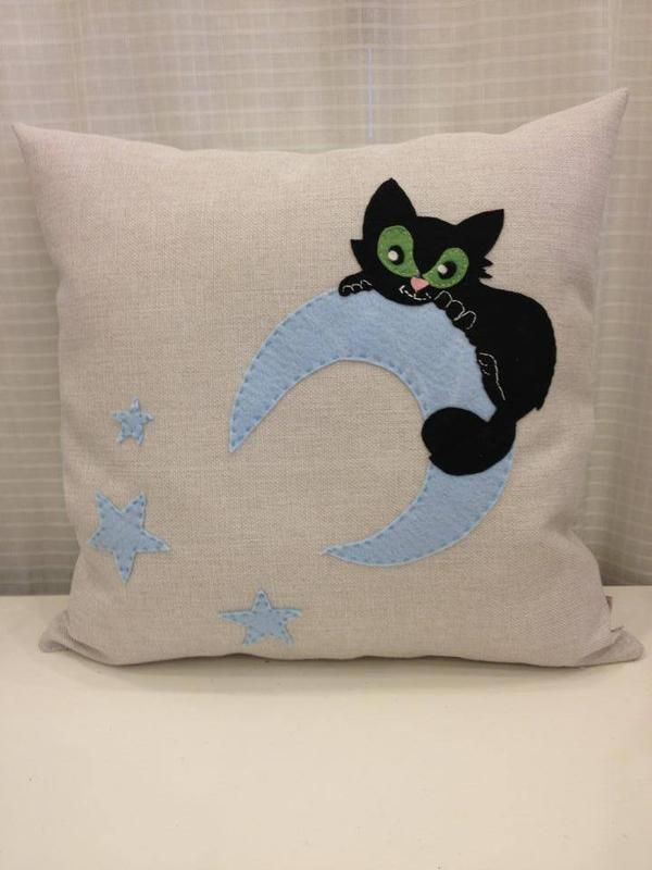 Kedi Yastk  Felt