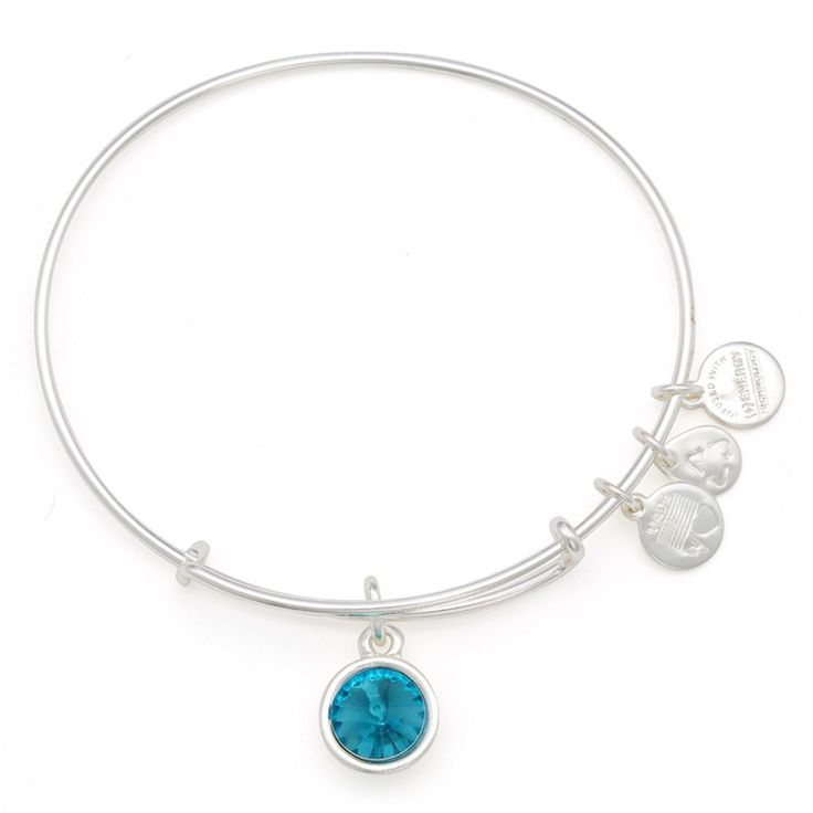 December Birthstone Charm Bracelet | Alex and Ani