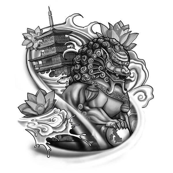 Custom chinese tattoo translation and design