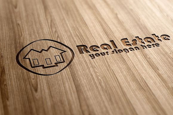 Check out Real Esate Logo on Creative Market