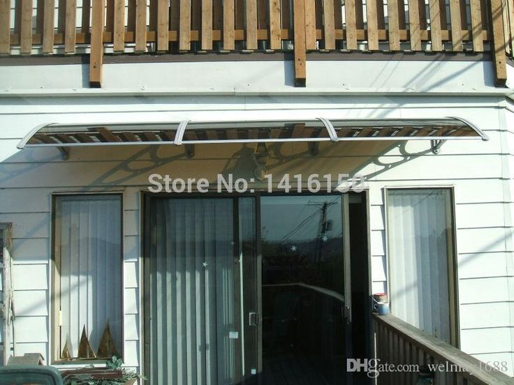 DS80300 P80x300cmDepth 80cmWidth 300cmBlack Grey White Plastic Bracket DIY AwningsBronze Clear Blue Green PC Sheet Awnings
