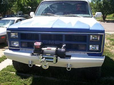 Custom Winch Bumper for Chevy GMC Trucks 1973-1987 FREE SHIPPING