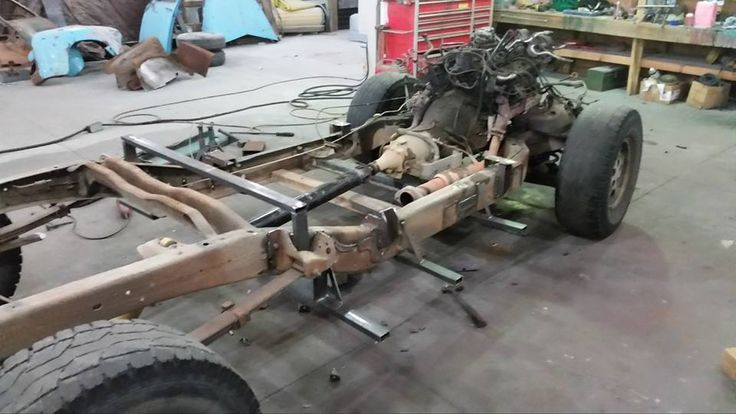 Chev Chevy Chevrolet Advanced Design pickup truck chassis ...