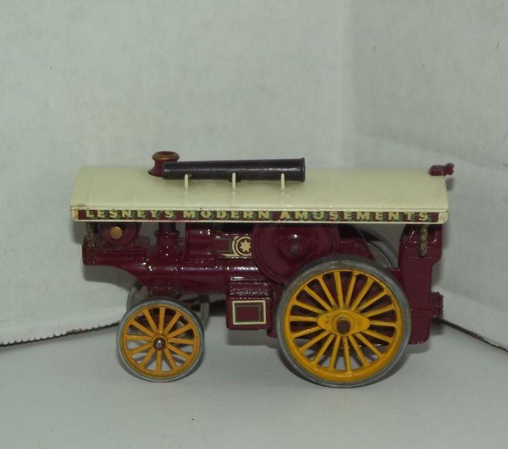 Vintage matchbox lesney fowler showmans engine no 9 made for Replica mobel england